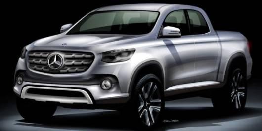 Пикап от Mercedes-Benz