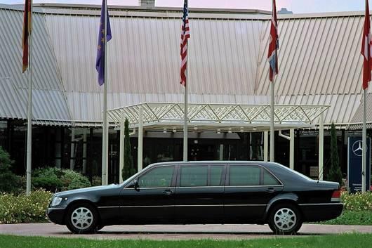 Mercedes-benz W140 S600 Pullman