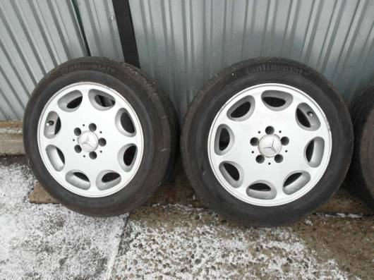 Размер стандартных колес на Mercedes-benz S-klasse W140