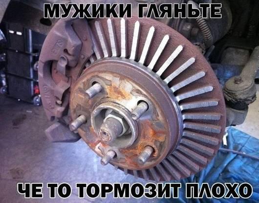 Замена передних тормозных колодок Ваз 2110 (2111, 2112)