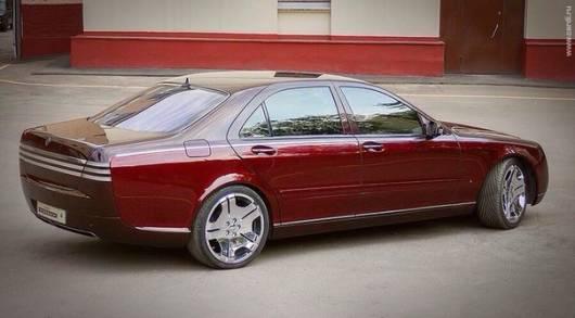 Mercedes-Benz W220 Monomach
