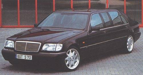 Brabus Business-Limousine W140