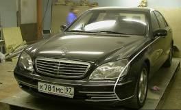 Mercedes-Benz W220 Monomach