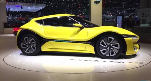 электромобиль nanoFlowcell Quantino