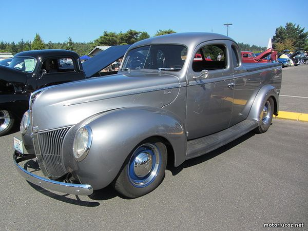 Ford Coupe Utility 1939 года